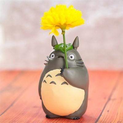 [이웃집 토토로] 한송이꽃병(우산토토로)