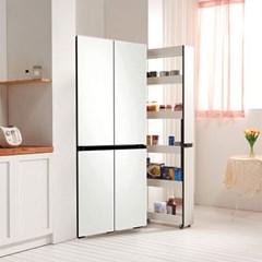 트리니 피크 틈새 수납장 200 250 주방 냉장고 다용도 주방장식장