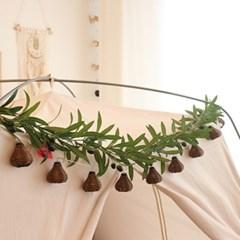 인조 넝쿨 가랜드 조화 올리브 180cm [나뭇잎 식물 행잉플랜트 장식]