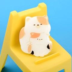 나인어클락 핸드 그립 스마트 고양이 냥 트윈 젤리 톡 냥이