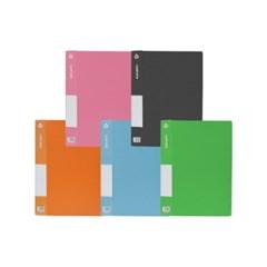 [블루마토]고정식 클리어화일A [TL6920] (20P) (색상랜덤)