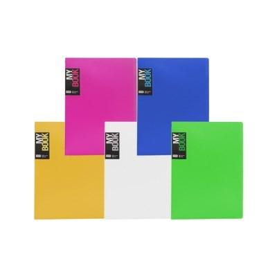 [블루마토]고정식 클리어화일B [TL5510] (10P) (색상랜덤)