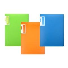 [블루마토] 고정식 클리어 파일I [GG40AS] (40P)-3칼라(랜덤발송)