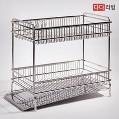 다다리빙 슈타빌 식기건조대 (베이직) 2단 가로형 /스텐 304