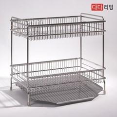 다다리빙 슈타빌 식기건조대 (베이직) 2단 세로형 /스텐 304