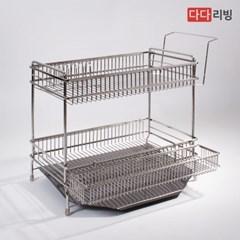 다다리빙 슈타빌 식기건조대 (풀세트) 2단 세로형 /스텐 304
