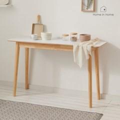 달빛 자작나무 HPM 화이트 홈바 테이블 1240 R127F
