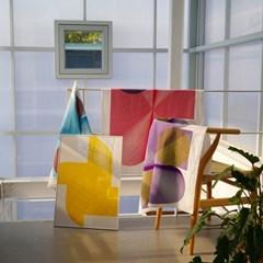 Optical Illusion Art Fabric (3 colors)