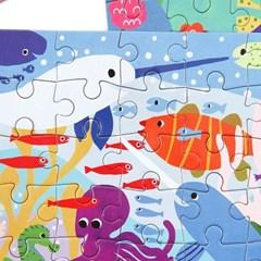 [이부] 고래와 친구들 36피스 미니퍼즐 3세이상