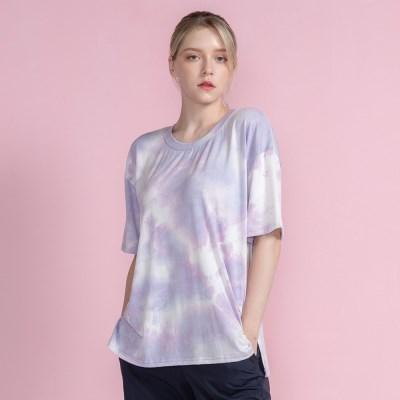 워터 프린팅 올데이 커버 티셔츠 DTF1S-3022 3colors