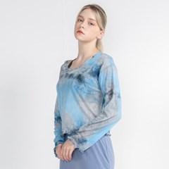워터 프린팅 커버 업 티셔츠 DTF1S-3023 3colors