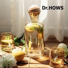 [닥터하우스] 오브제 유리물병+컵 2p 세트