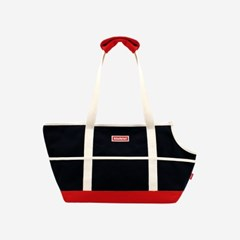 ORIGINAL COLOR BLOCK CARRIER BAG-BLACK(캐리어백)