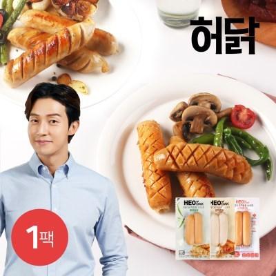 [허닭] 닭가슴살 소시지 120g 3종 1팩