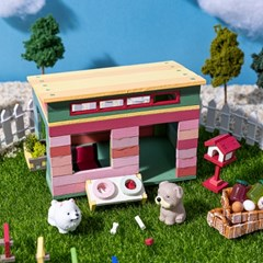 [리얼브릭] DIY 미니어처 집 만들기 - 외부 악세사리