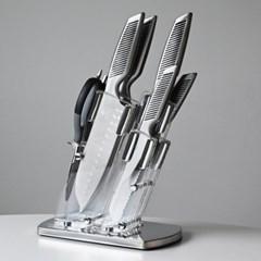 매시 올스텐 칼+빵칼+가위+칼블럭 7P세트