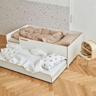 [우드래빗]마이토 슬라이딩 침대
