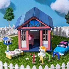 [리얼브릭] DIY 미니어처 집 만들기 풀세트 - 베이직 하우스