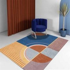 먼지없는 거실 카페트 소형 대형 특대형 사계절 러그 카펫트 J