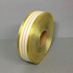 반짝이 금색리본 고급선물 포장용 리본끈 1롤 45m