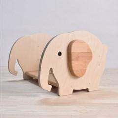 원목 유아책꽂이 아기코끼리 토토