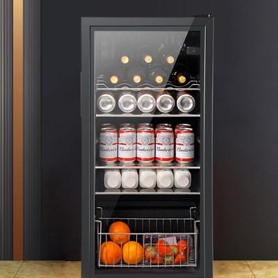 [아이니샵] 미니 냉장고 쇼케이스 술냉장고 소형