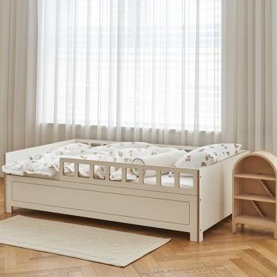 [우드래빗]마이토 펜스 침대
