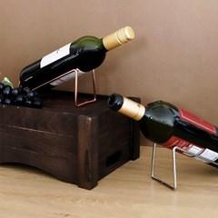 이태리식 인테리어 와인받침 메탈프레임 와인랙 WR20