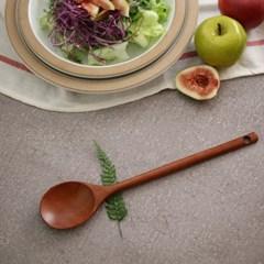 대추나무 옻칠 샐러드 스푼(사이즈선택)