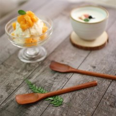 대추나무 옻칠 버터 스푼