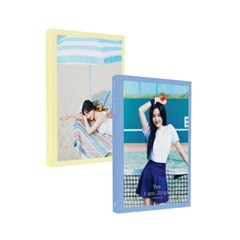 지효(Jihyo) [YES I am Jihyo] PHOTOBOOK (화보집)(Cobalt Blue ver)