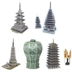 한국사 입체퍼즐 - 한국의 문화유산 4 (5종)