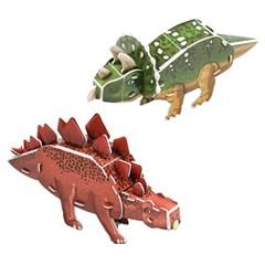 공룡 입체퍼즐 - 트리케라톱스 스테고사우루스