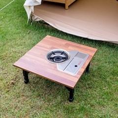 엔트 미니 불판 접이식 테이블