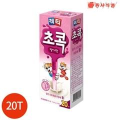 동서 제티 초콕 딸기맛 3.6g x 20T