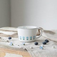 [모던하우스] L 블루 데이지 법랑 계량컵