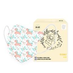 [아이다움] 국산 3겹 유니콘 어린이마스크 유아마스크 캐릭터 마스크