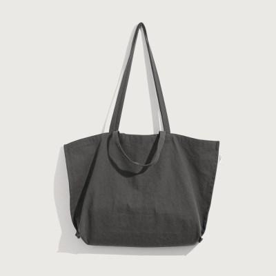 Four Seasons Bag / Large / Charcoal (사계절 천가방)