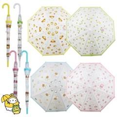 몰랑 반투명 우산 50cm(랜덤) 유아 아기 아동 어린이 초등학생 캐릭