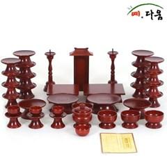 예다움 종가집 물푸레 복 원목제기 37p