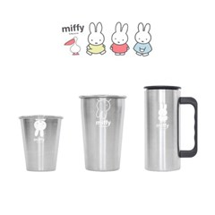 화이트미피 스텐 유아/아동식기 컵 물컵 양치컵 캠핑컵 모음