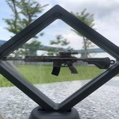 무중력 솔라 자동회전 데코 라이플 건 모델 모형 총