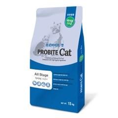국산 고양이사료 프로바이트 캣 15kg 고양이밥