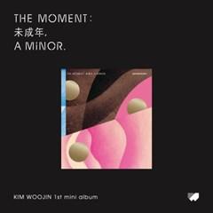 김우진(KIM WOOJIN) 미니앨범 [The moment:未成年, a minor](Ver.C)