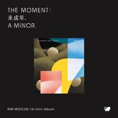 김우진(KIM WOOJIN) 미니앨범 [The moment:未成年, a minor](Ver.B)
