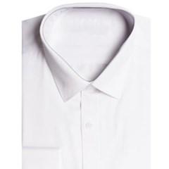 남성 남자 셔츠 남방 긴팔 슬림핏 심플 화이트