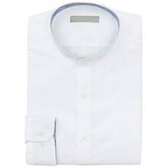 남성 남자 셔츠 남방 긴팔 차이나 카라 화이트