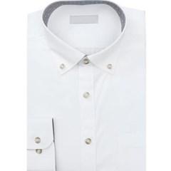 남성 남자 셔츠 남방 긴팔 화이트 코른