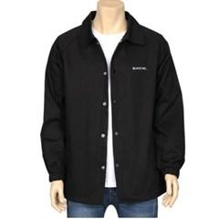 남성 남자 셔츠 남방 긴팔 블랙 넘버 무지 자켓