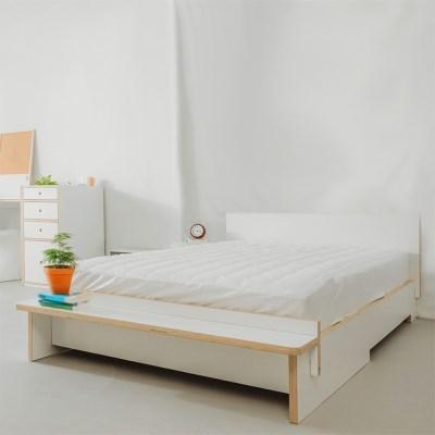[우드래빗]원앤온리 벤치 침대